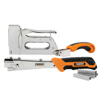 Freeman PHTSRK Staple Gun and Hammer Tacker Kit with Staples (3,750 Count)