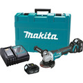 Makita XAG06M 18V LXT 4.0 Ah Cordless Lithium-Ion Brushless 4-1/2 in. Paddle Switch Cut-Off/Angle Grinder Kit