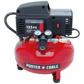 Factory Reconditioned Porter-Cable PCFP02003R 135 PSI 3.5 Gallon Oil-Free Pancake Compressor
