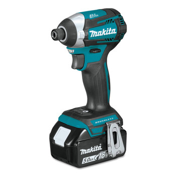 Makita XDT14T 18V LXT Cordless Lithium-Ion Brushless Quick-Shift 3-Speed Impact Driver image number 1