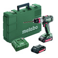 Metabo 602320520 18V BS 18 L Quick Lithium-Ion 3/8 in. Cordless Drill Screwdriver (2 Ah) image number 0