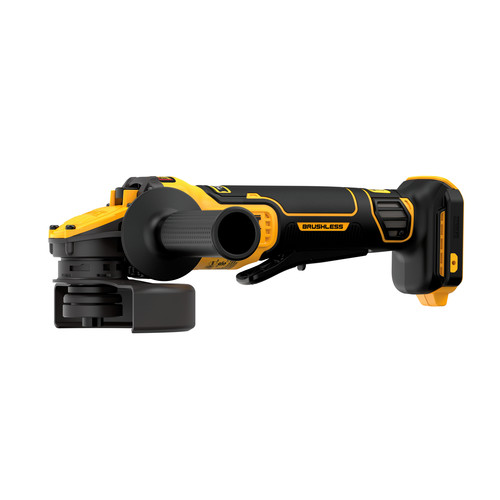 Dewalt DCG416B 20V MAX Brushless Lithium-Ion 4-1/2 in. - 5 in. Cordless Paddle Switch Angle Grinder with FLEXVOLT ADVANTAGE (Tool Only) image number 0