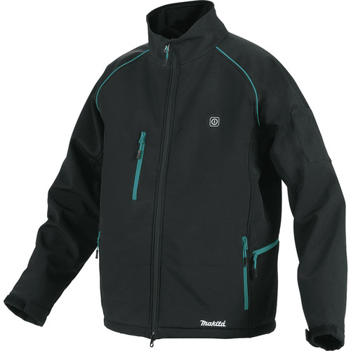 Makita DCJ205ZM 18V LXT Lithium-Ion Heated Jacket (Jacket Only) - Black, M image number 0
