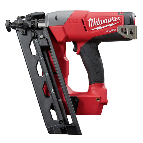 Milwaukee 2742-20 M18 FUEL Cordless Lithium-Ion 16-Gauge Brushless Angled Finish Nailer (Tool Only)