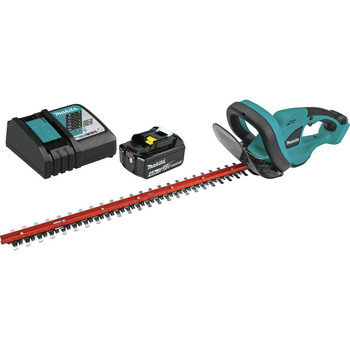 Makita XHU02M1 18V LXT 4.0 Ah Cordless Lithium-Ion 22 in. Hedge Trimmer Kit