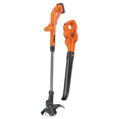 Black & Decker LCC221 20V MAX 1.5 Ah Cordless Lithium-Ion String Trimmer and Sweeper Combo Kit image number 0