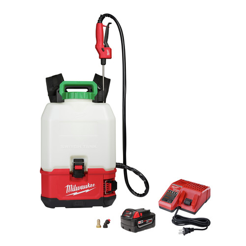 Milwaukee 2820-21PS M18 SWITCH TANK 4-Gallon Backpack Sprayer Kit image number 0