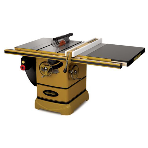 Powermatic PM2000 5 HP 10 in. Three Phase Left Tilt Table Saw with 30 in. Accu-Fence and Riving Knife