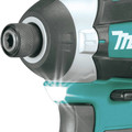 Factory Reconditioned Makita XT268T-R 18V LXT Brushless Lithium-Ion 1/2 in. Cordless Hammer Drill/ Impact Driver Combo Kit (5 Ah) image number 5