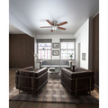 Casablanca 54101 Durant 54 in. Transitional Brushed Nickel Walnut Indoor Ceiling Fan image number 11