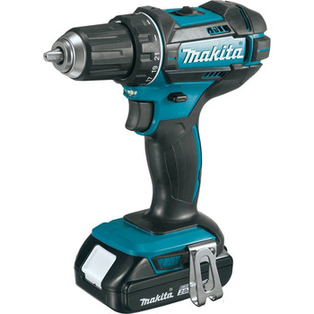 Factory Reconditioned Makita XFD10R-R 18V LXT Lithium-Ion 2-Speed Compact 1/2 in. Cordless Driver Drill Kit (2 Ah) image number 1