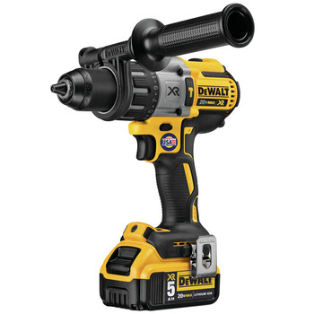Factory Reconditioned Dewalt DCD996P2R 20V MAX XR Lithium-Ion Brushless 3-Speed 1/2 in. Cordless Drill Driver Kit (5 Ah) image number 3