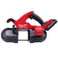 Milwaukee 2829-22 M18 FUEL Lithium-Ion Compact 3-1/4 in. Cordless Band Saw Kit (3 Ah) image number 2
