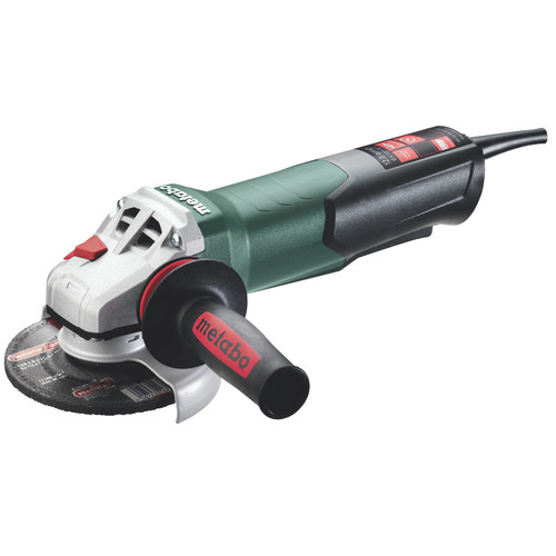 Metabo 603629420 WP 13-125 Quick 12 Amp 11,000 RPM 4.5 in. / 5 in. Corded Angle Grinder with Non-Locking Paddle image number 0
