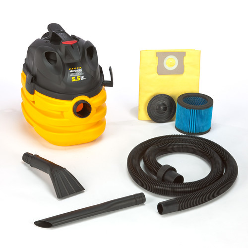 Shop-Vac 5872810 5 Gallon 5.5 Peak HP Right Stuff Portable Wet/Dry Vacuum