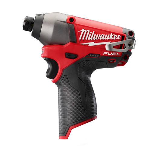 Milwaukee 2453-20 M12 FUEL 12V Cordless Lithium-Ion 1/4 in. Hex Impact Driver (Bare Tool)