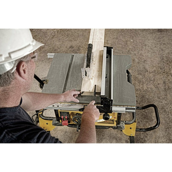 Dewalt DWE7491RS 10 in. 15 Amp  Site-Pro Compact Jobsite Table Saw with Rolling Stand image number 19