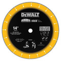 Dewalt DW8500 14 in. Diamond Edge Chop Saw Blade