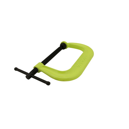 Wilton 14306 400 Series 2 in. - 10-1/8 in. Jaw Capacity Hi-Vis Safety C-Clamp image number 0