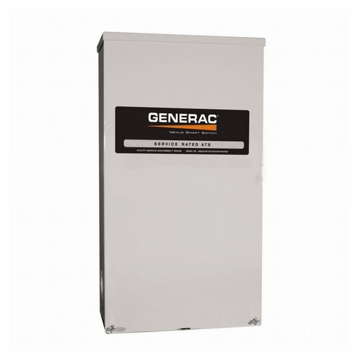 Generac RTSW300A3 300 Amp 120V/240V Service Rated Nema 3R Automatic Transfer Switch