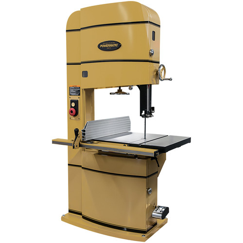 Powermatic PM2415B-3 5 HP 3-Phase 24 in. x 15 in. Vertical Band Saw