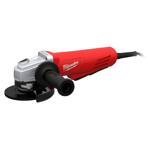 Milwaukee 6147-30 4-1/2 in. 11.0 Amp Paddle Switch Grinder with Lock-On Button