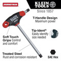 Klein Tools JTH610E 10-Piece SAE 6 in. Blade T-Handle Hex Key Set with Stand image number 1