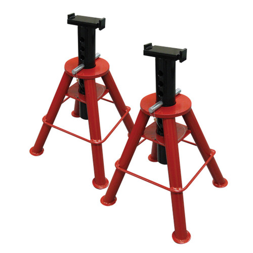 Sunex HD 1310 10 Ton Capacity Medium Height Pin Type Jack Stands (Pair)