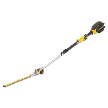 Factory Reconditioned Dewalt DCHT895M1R 40V MAX XR Brushless Lithium-Ion Cordless Telescopic Pole Hedge Trimmer Kit (4 Ah)
