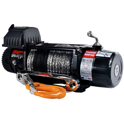 Warrior Winches 8000-SR 8,000 lb. Spartan Series Planetary Gear Winch with Synthetic Rope image number 0