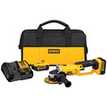 Factory Reconditioned Dewalt DCG412P2R 20V MAX Cordless Lithium-Ion 5 in. Grinder Kit