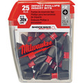 Milwaukee 48-32-4604 #2 Phillips Shockwave Insert Bit Contractor (25-Pack)