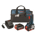 Bosch SGH182-01 18V Cordless Lithium-Ion Brushless Drywall Screwgun with 2 4.0 Ah FatPack Batteries