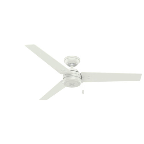 Hunter 59263 52 in. Cassius White Ceiling Fan image number 0