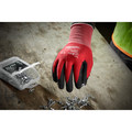 Milwaukee 48-22-8904B 12-Piece Cut Level 1 Nitrile Dipped Gloves - 2XL image number 1