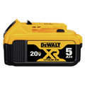 Dewalt DCB205 20V MAX XR Premium 5 Ah Lithium-Ion Battery image number 0