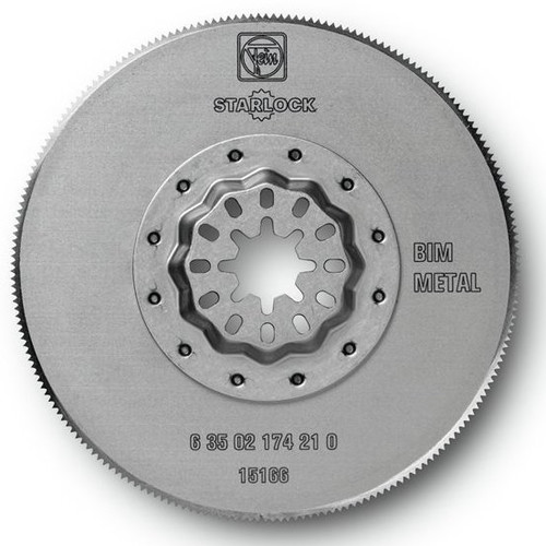 Fein 63502174230 3-3/8 in. Round High-Speed Steel Circular Oscillating Saw Blade (5-Pack)