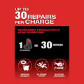 Milwaukee 2459-22 M12 FUEL Brushless Lithium-Ion Cordless 2-Tool Commercial Flat Tire Repair Kit (2 Ah / 4 Ah) image number 7