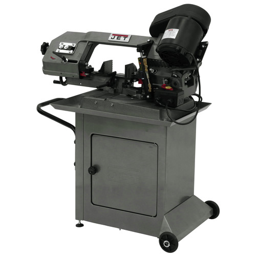JET HBS-56S 5 in. x 6 in. 1/2 HP 1-Phase Swivel Head Horizontal Band Saw