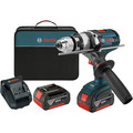Factory Reconditioned Bosch DDH181X-01-RT 18V Cordless Lithium-Ion 1/2 in. Brute Tough Drill Driver with Active Response Technology