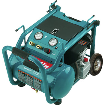 Factory Reconditioned Makita MAC5200-R 3.0 HP 5.2 Gallon Oil-Lube Wheeled Dolly-Style Air Compressor image number 1