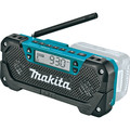 Makita RM02 12V max CXT Cordless Lithium-Ion Compact Job Site Radio (Tool Only) image number 1
