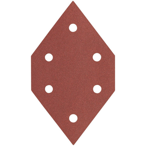 Porter-Cable 767600605 60-Grit Diamond-Shaped Hook and Loop Sanding Sheets (5-Pack)