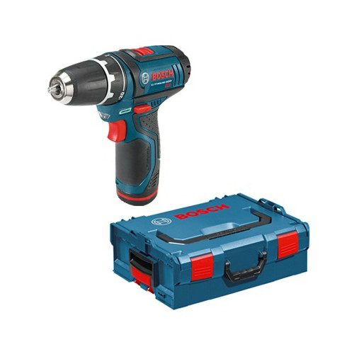 Bosch PS31-2AL 12V Max Cordless Lithium-Ion 3/8 in. Drill Driver Kit with L-BOXX