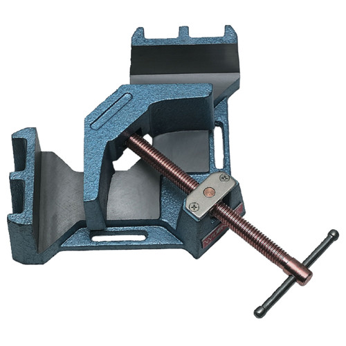 Wilton 64000 3-11/32 in. Miter Capacity 90-Degree Angle Clamp 1-3/8 in. Jaw Height 4-1/8 in. Jaw Length