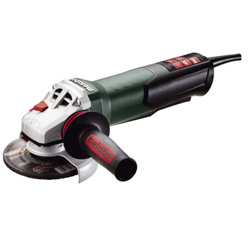 Metabo 600476420 13.5 Amp 5 in. Angle Grinder with TC Electronics and Non-Locking Paddle Switch image number 0