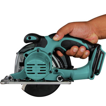 Makita XSC03Z 18V LXT Lithium-Ion Cordless 5-3/8 in. Metal Cutting Saw with Electric Brake and Chip Collector (Tool Only) image number 5