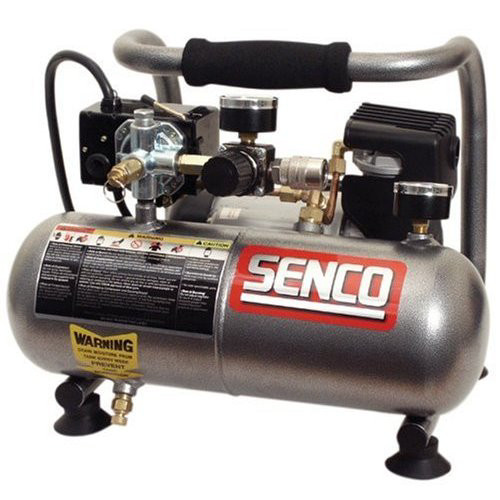 Factory Reconditioned SENCO PC1010R 1/2 HP 1 Gallon Oil-Free Hand-Carry Compressor image number 0