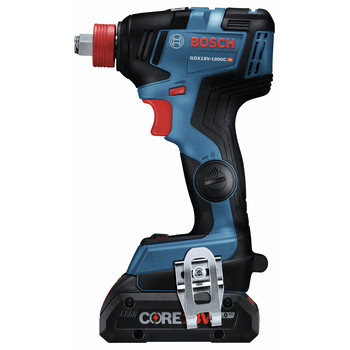Bosch GDX18V-1800CB25 Freak 18V EC Brushless Connected 1/4 in. and 1/2 in. 2-in-1 Bit/Socket Impact Driver Kit with CORE18V 4.0 Ah Compact Batteries image number 2