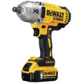 Dewalt DCF899P2 20V MAX XR Cordless Lithium-Ion 1/2 in. Brushless Detent Pin Impact Wrench with 2 Batteries image number 2